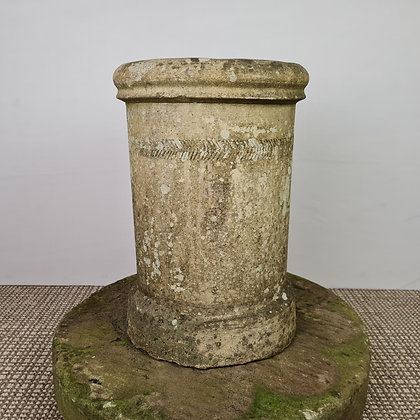 Weathered Terracotta Chimney Pot