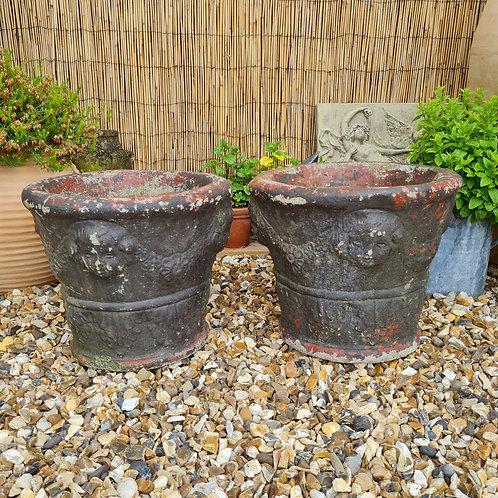 Pair of Vintage Planters