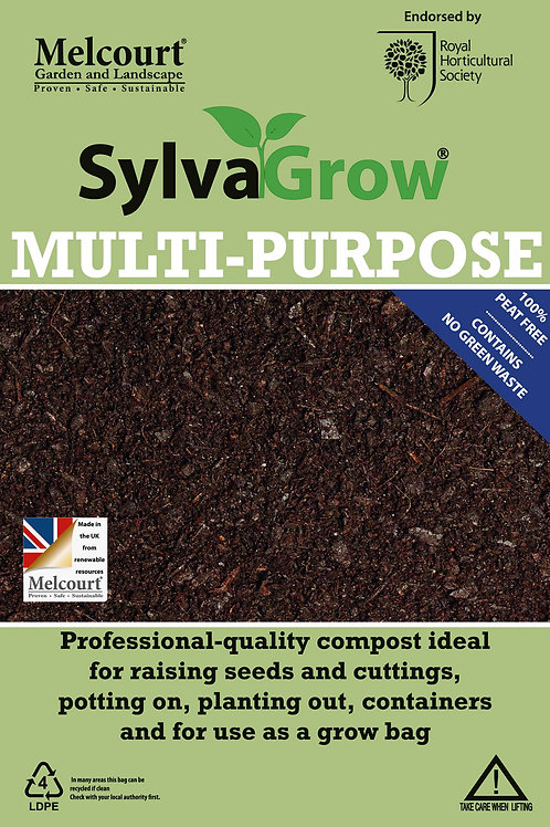 SylvaGrow Multipurpose Peat-Free Compost