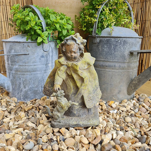Old French Spelter Figure