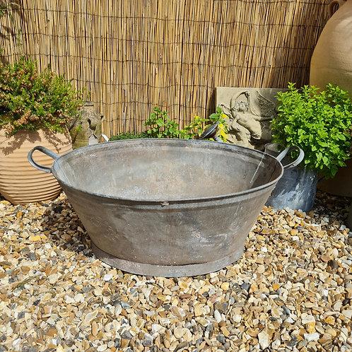 Vintage Galvanised Tub