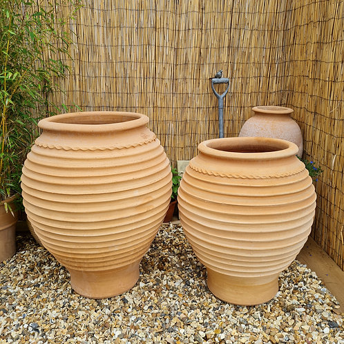 Beehive Cretan Terracotta Pots