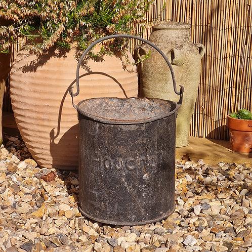 Old Metal Tub Planter