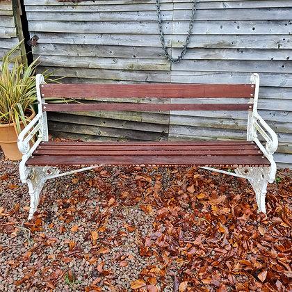 Aesthetic Period Cast Iron Bench