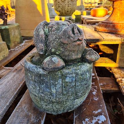 Pig in a Barrel