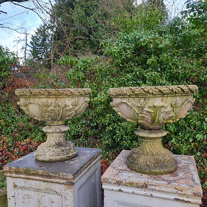 Victorian Style Bowl Planters