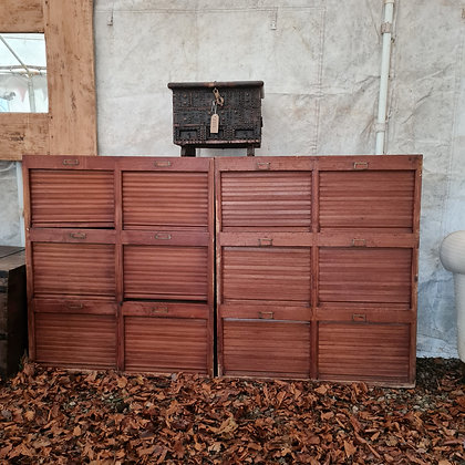 Banks of Schoolhouse Shutters