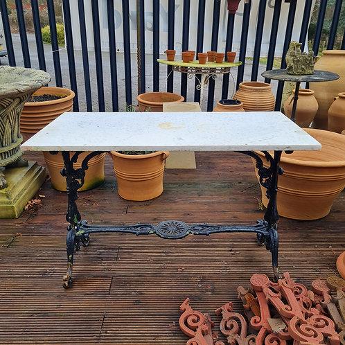 19th Century Cast Iron Table