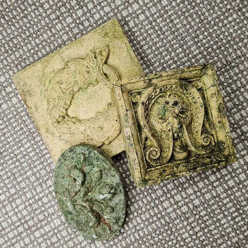 Set of Weathered Plaques