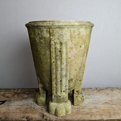 Antique Regency Hand Carved Marble Urn