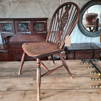 Antique Wheelback Chair