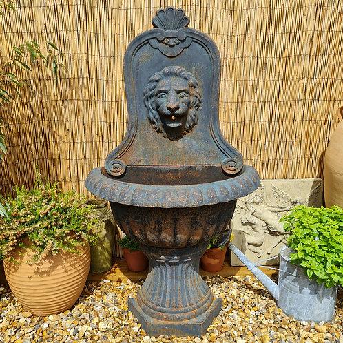 Cast Iron Wall Fountain / Planter