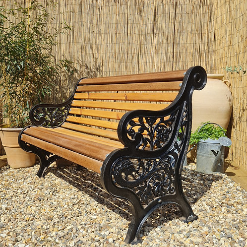 2 Seater Cast Iron Bench