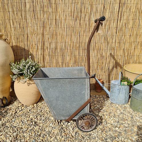 Galvanised Garden Trolley
