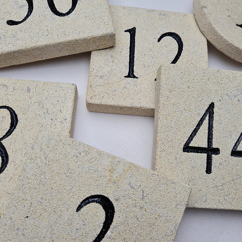 Cotswold Stone House Numbers