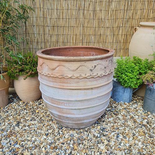 Weathered Cretan Terracotta Planter