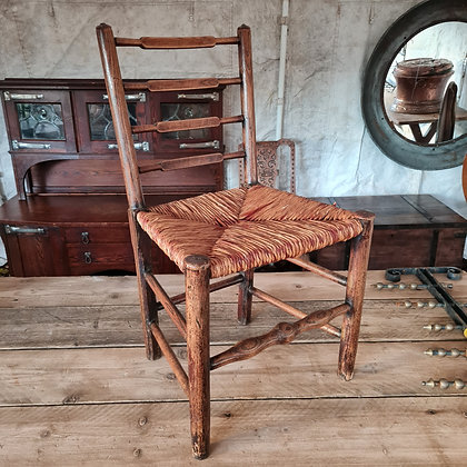 6 Ladder Back Dining Chairs