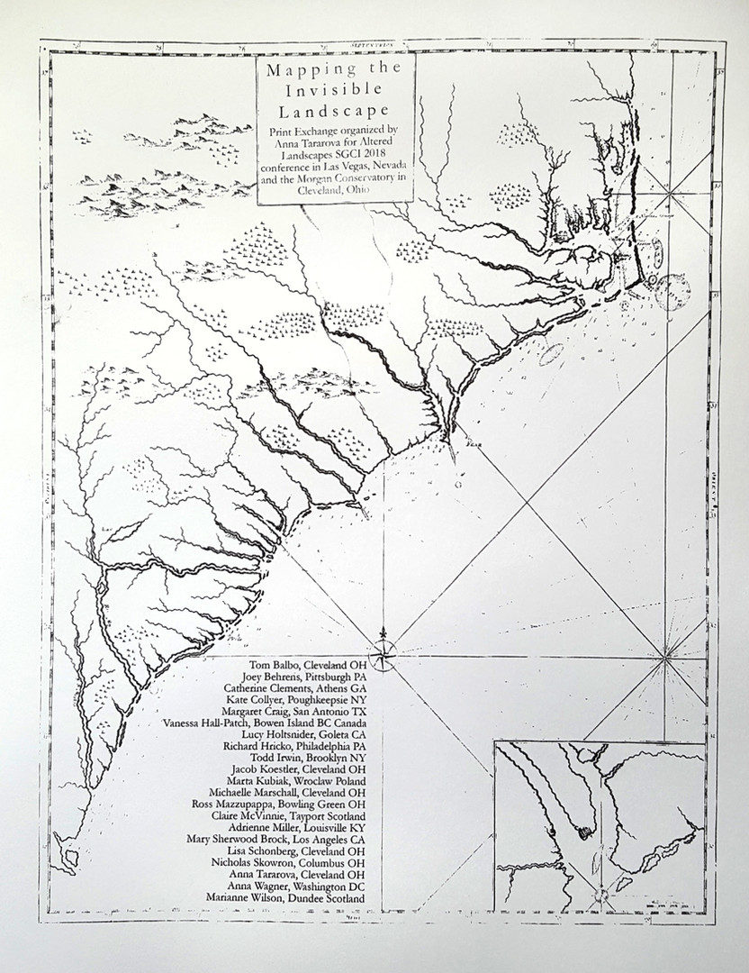 Mapping the Invisible Landcape Colophon