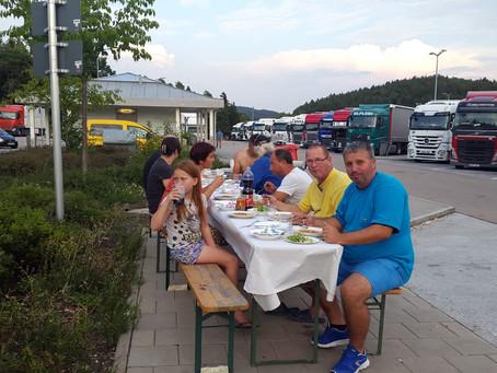 Urlaubsprojekt 2018 Trucker - Essen