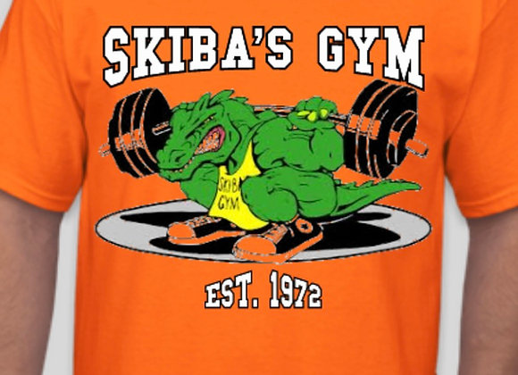 Skiba's Gym Orange T-Shirt