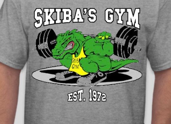 Skiba's Gym T-shirt gray
