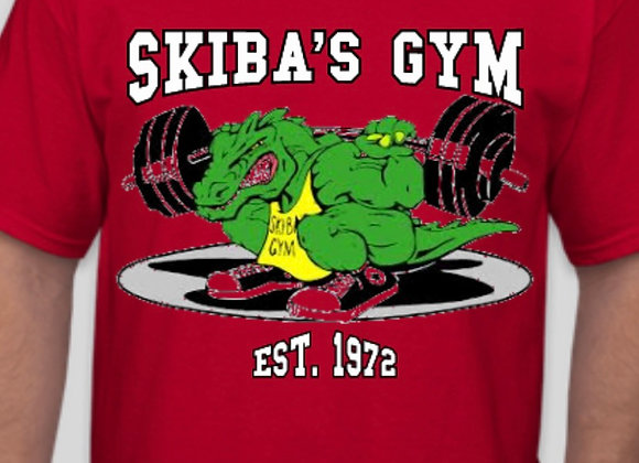 Skiba's Gym Red T-shirt