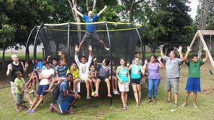 Skybound Trampoline in Honduras