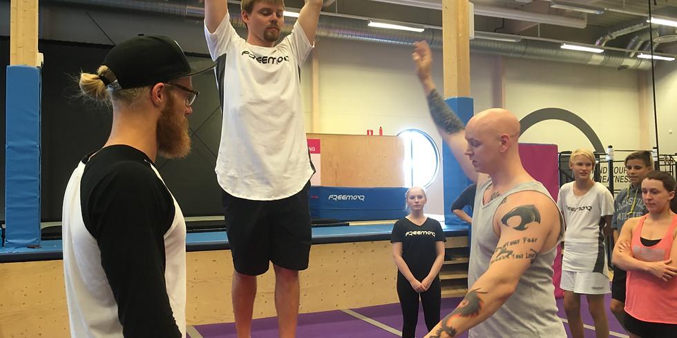 Greg Roe Workshop @ Freemovr Sundsvall
