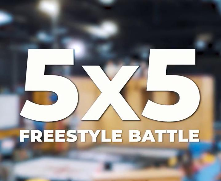 5 x 5 Supertramp Battle