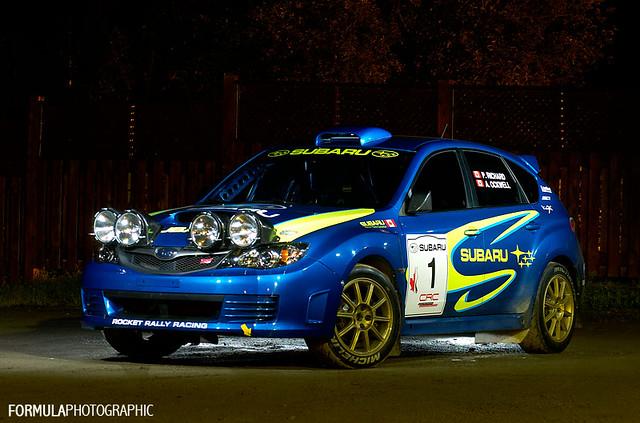 Subaru RallyCar ~ Pat Richard