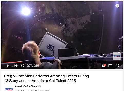 Greg Roe America's Got Talent Audition