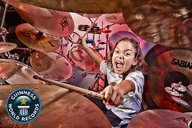 Julian Pavone World's Youngest Drummer