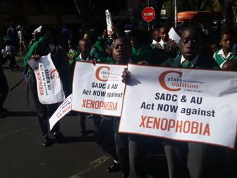CiZC in anti-Xenophobia march