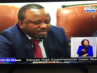 CiZC Briefs SADC Chairperson, President Geingob on Zim Crisis