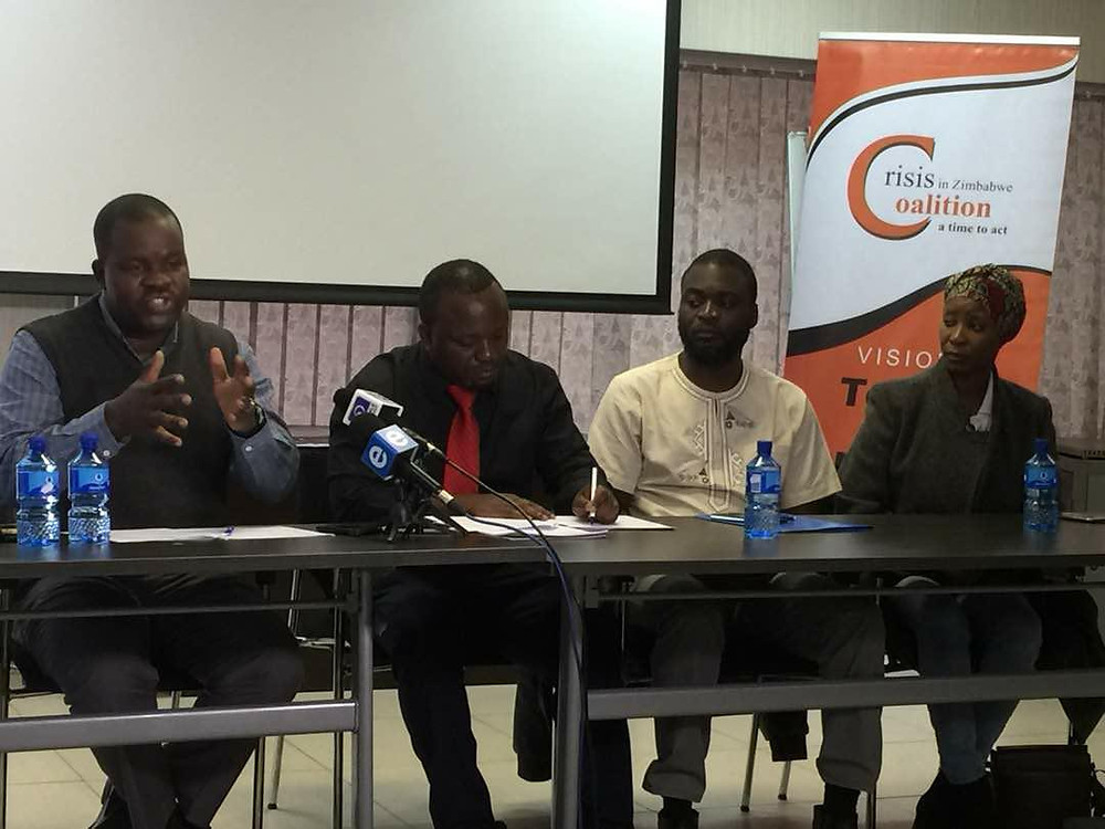 CSO Leaders Media Briefing at COSATU House (Pic: T. Mswelanto)