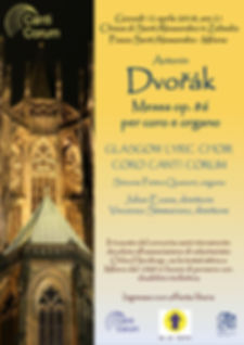Glasgow Lyric Choir Canti Corum Milan 2018
