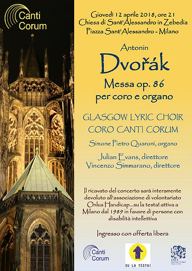 Glasgow Lyric Choir Canti Corum Milan 2018