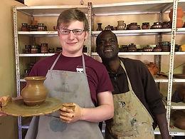 Botswana - Pottery Wheel, Zachary Abbott