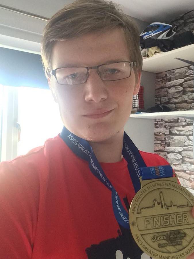 Greater Manchester Marathon 2018 Finisher