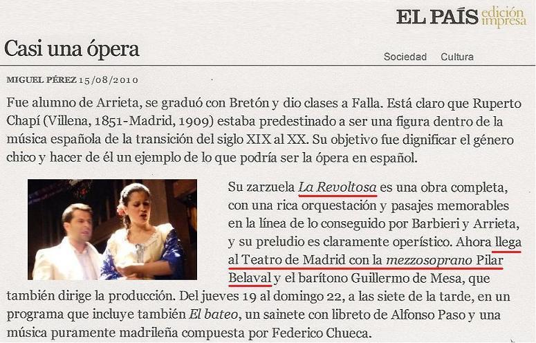 Reseña El País