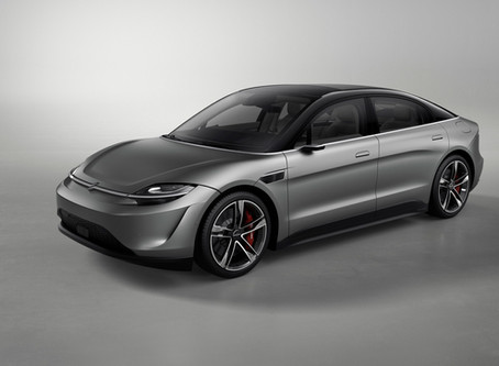 Sony Shocks Automotive Industry by Revealing Electric Concept Car