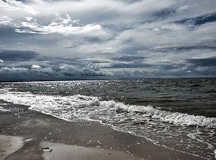 nuageux océan