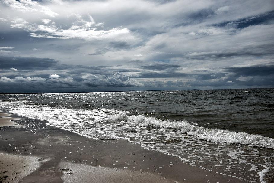 nublado Océano