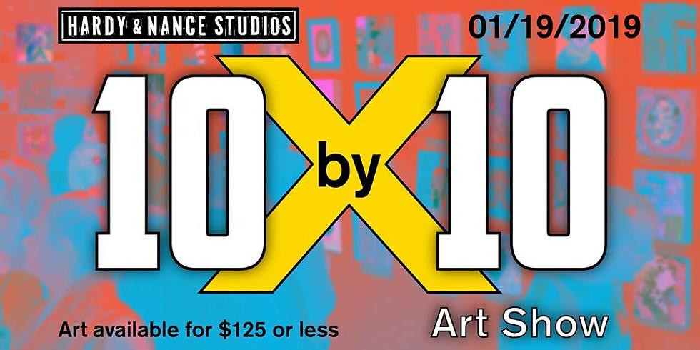 Hardy & Nance 10 x 10 Exhibition