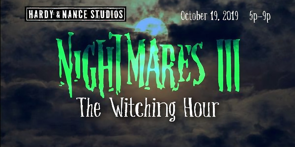 Nightmares III - The Witching Hour event & exhibition