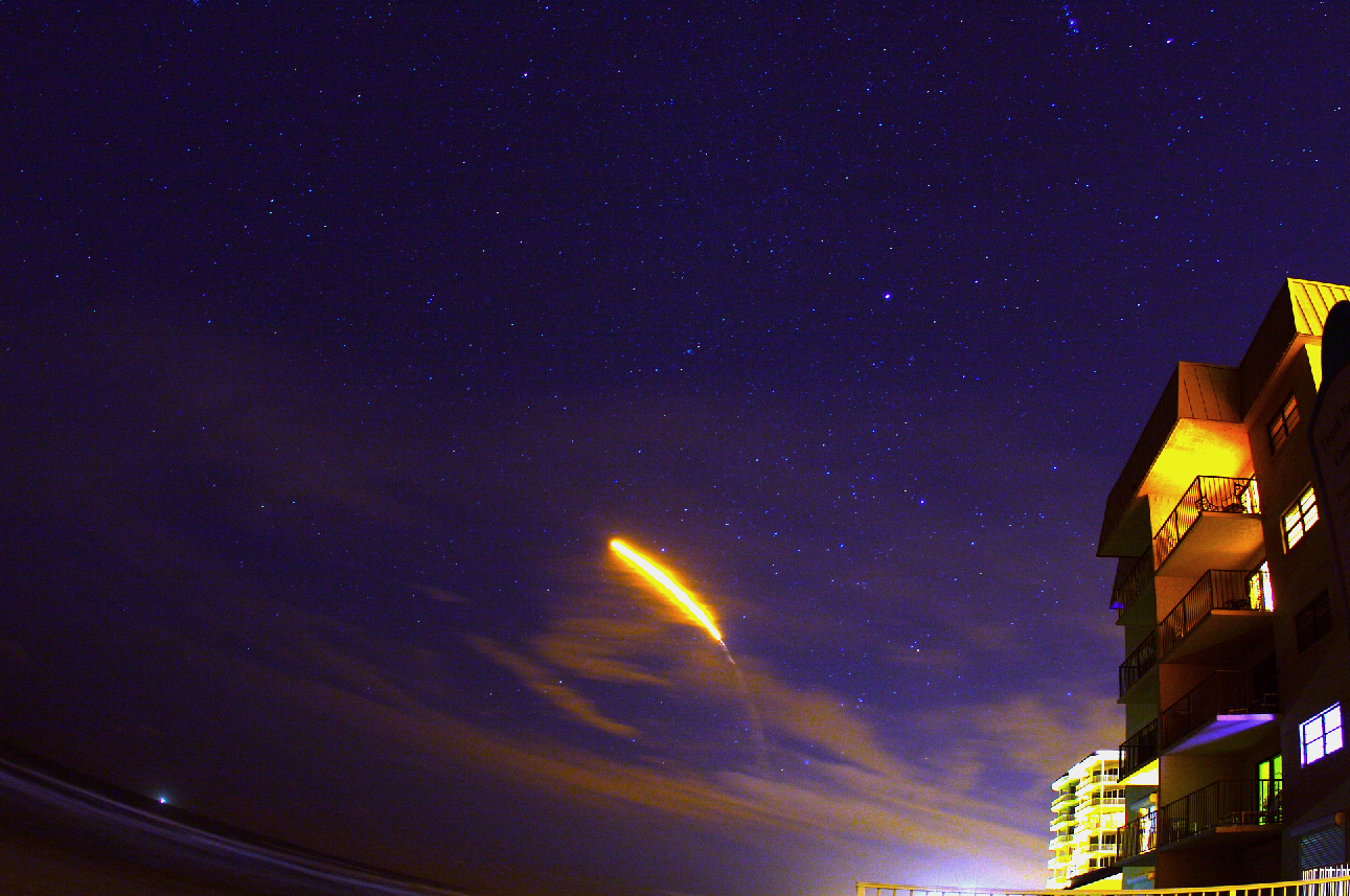 Rocket Launch & Stars....