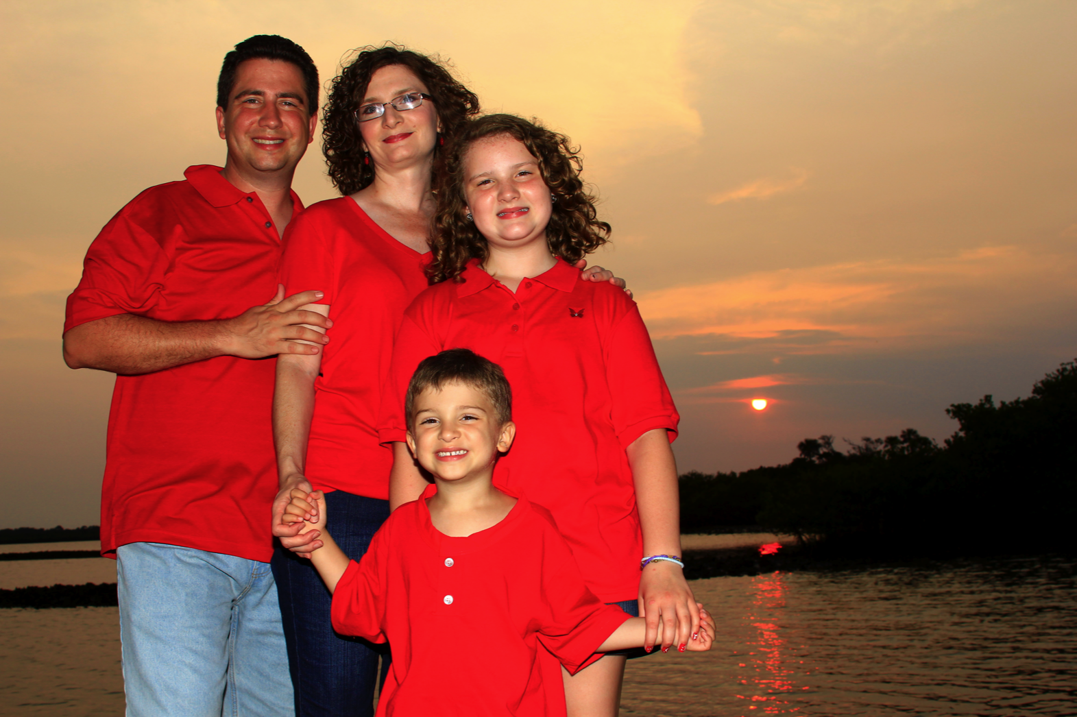 Sunset Family Photos