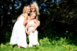 Mom and Daughters - Low Aperture