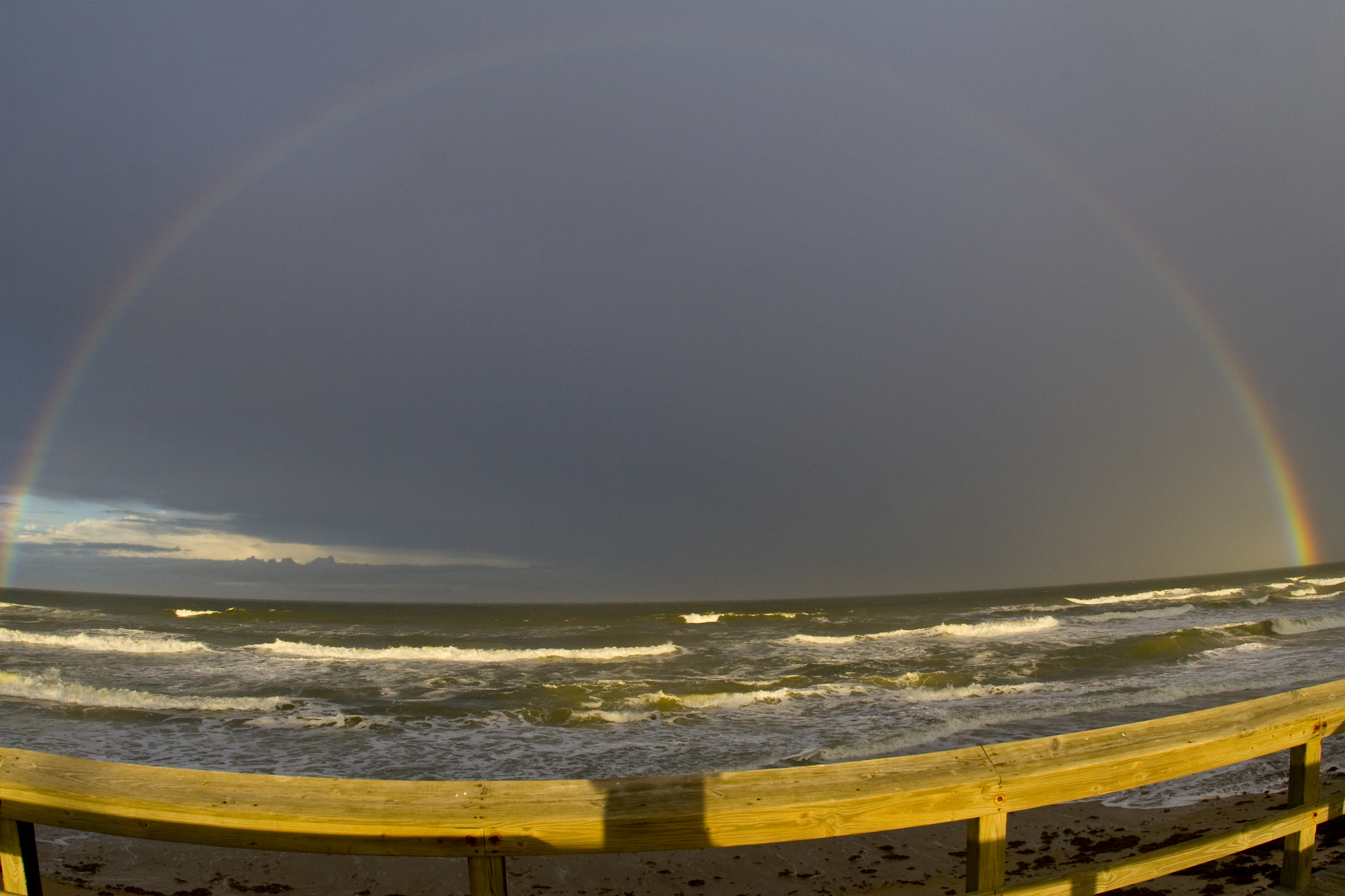 Rainbow - Bethune Wall