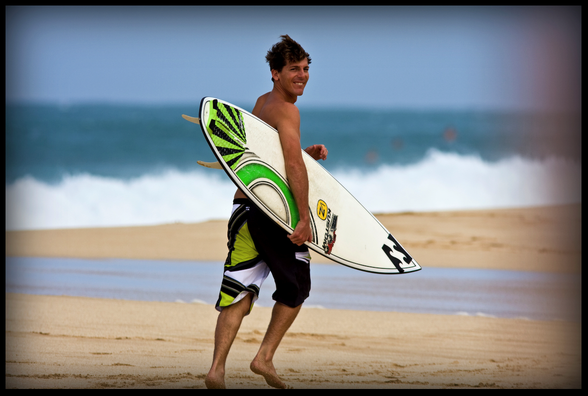 All Smiles with Andy Irons